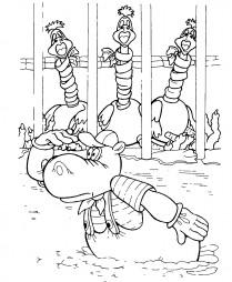 Страусята ждут Айболита