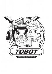 Кори и робот из Тобот