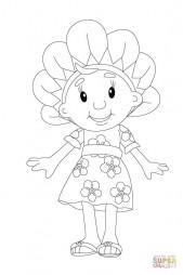 Красивое цветочное платье Фифи
