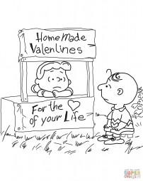 День святого Валентина для Чарли Брауна