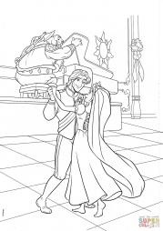 Свадебный танец Флинна и Рапунцель