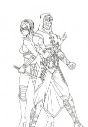 Воины из Mortal Kombat