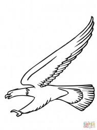 Атака белоголового орлана