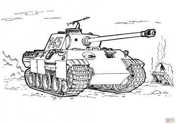 Немецкий средний танк Пантера