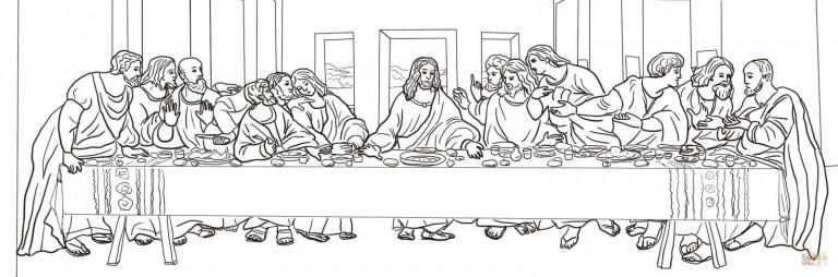 """Тайная вечеря"". Леонардо да Винчи"
