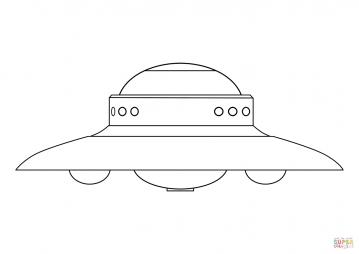 Летающая тарелка инопланетян