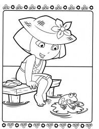 Даша и лягушка