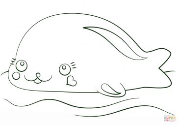 Кавай-тюлень