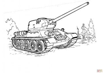Советский средний танк T 34