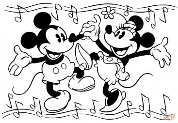 Зажигательный танец от Мини и Микки Мауса