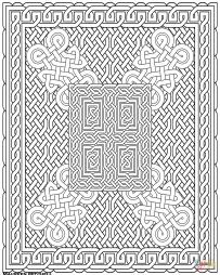 Узор с кельтским узлом