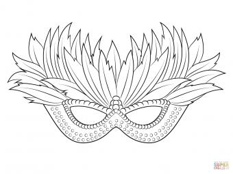 Венецианская маска для фестиваля Марди Гра