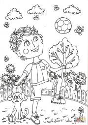 Мальчик Питер в июне