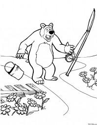Мишка пришел с рыбалки