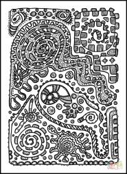 Психоделический узор