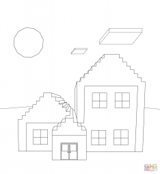 Дом из Майнкрафт