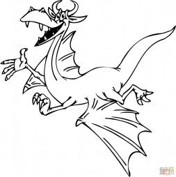 Улыбающийся дракон